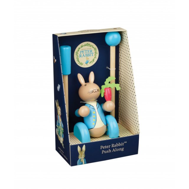 Peter Rabbit Peter Rabbit Wooden Push Along (Boxed)
