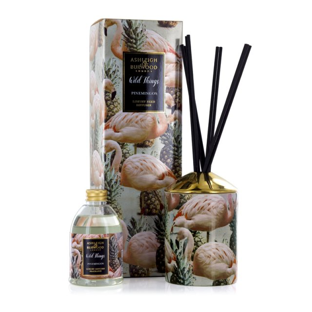 Ashleigh & Burwood London Wild Things Pinemingos Coconut & Lychee Luxury Diffuser