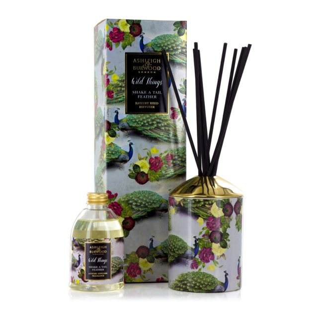 Ashleigh & Burwood London Wild Things Shake a Tail Feather Mimosa Luxury Diffuser