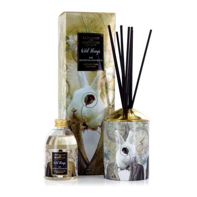 Ashleigh & Burwood London Wild Things Sir Hoppingsworth Cognac & Leather Luxury Diffuser
