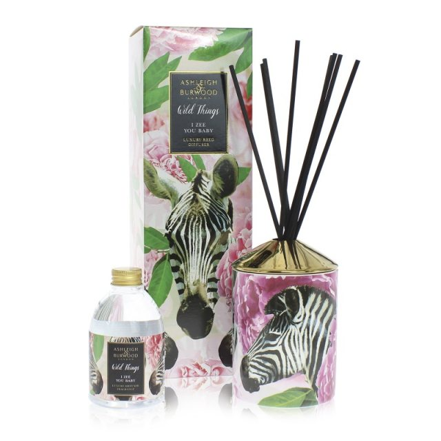 Ashleigh & Burwood London Wild Things I Zee You Baby Peony Luxury Diffuser