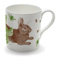 Thornback & Peel Thornback & Peel Rabbit & Cabbage Mug