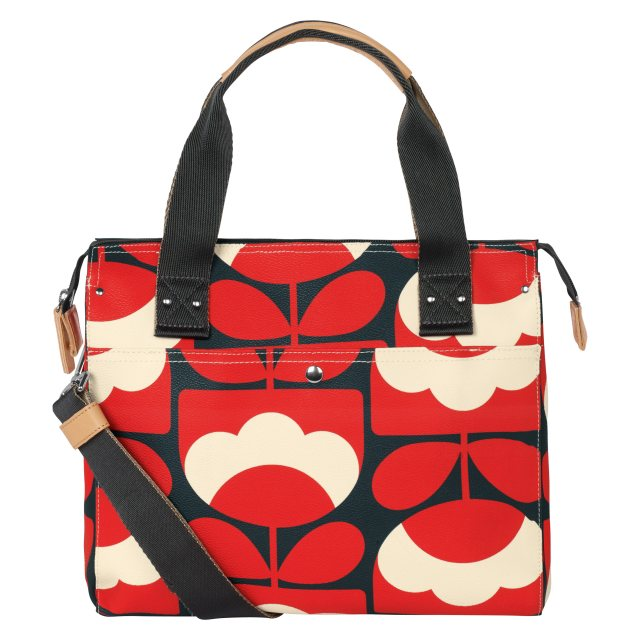 Orla Kiely Orla Kiely Spring Bloom Zip Messenger Ruby