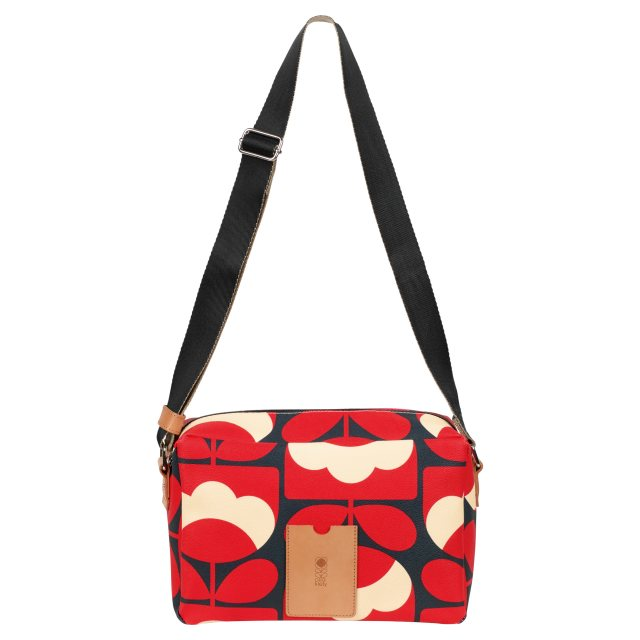 Orla Kiely Flight Bag Ruby
