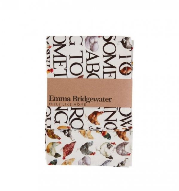 Emma Bridgewater Emma Bridgewater Hen & Toast Tea Towels