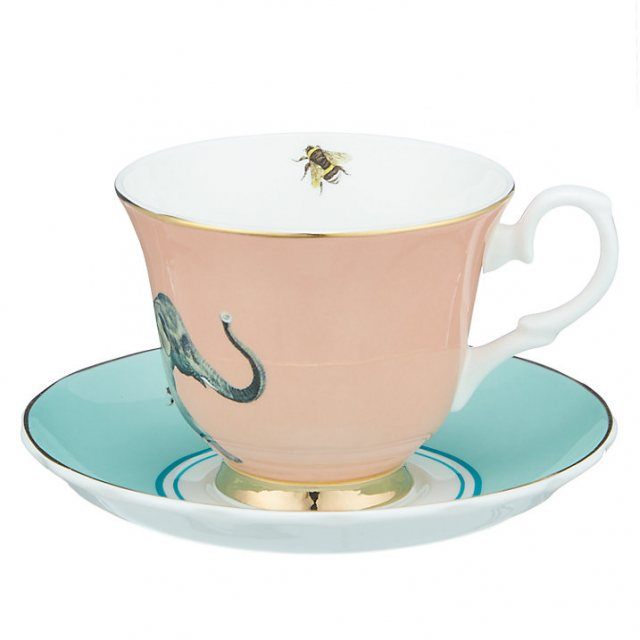 Yvonne Ellen Yvonne Ellen Elephant Teacup and Saucer