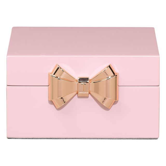 Ted Baker Ted Baker Small Pink lacquered Jewellery Box