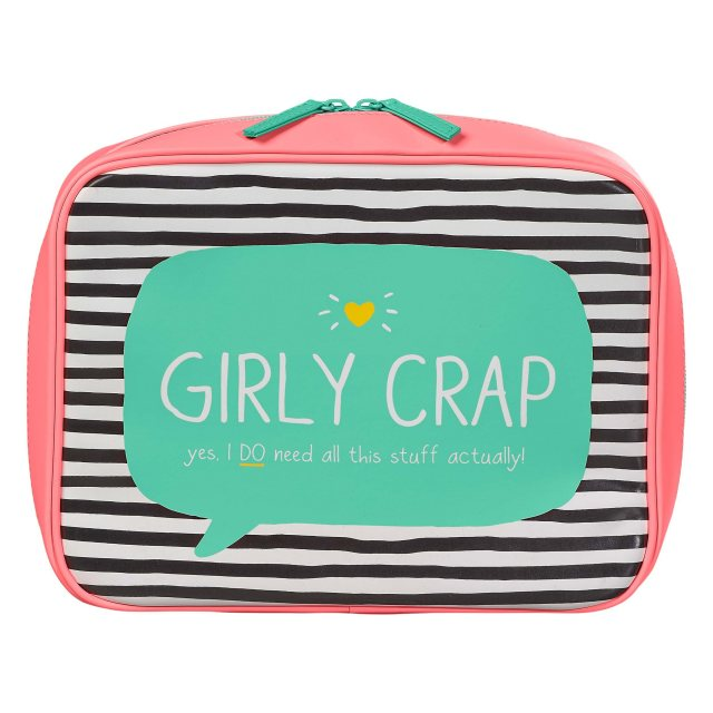 Happy Jackson Happy Jackson Girly Crap Travel Bag