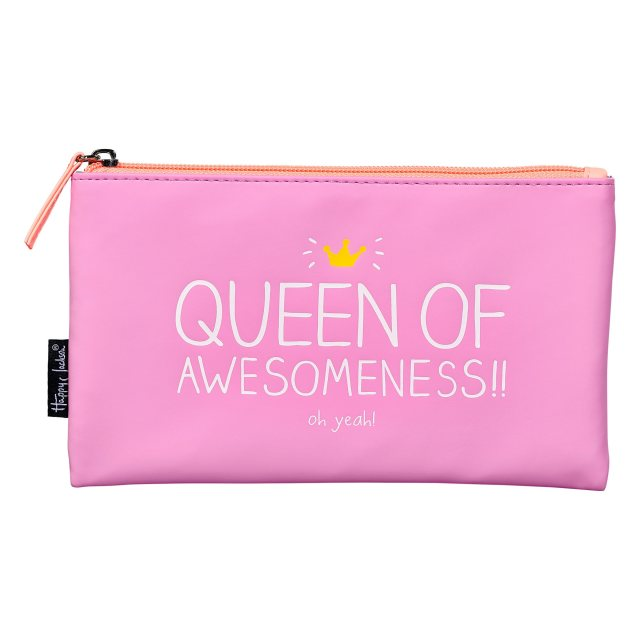 Happy Jackson Happy Jackson Handy Pouch 'Queen Of Awesomeness'