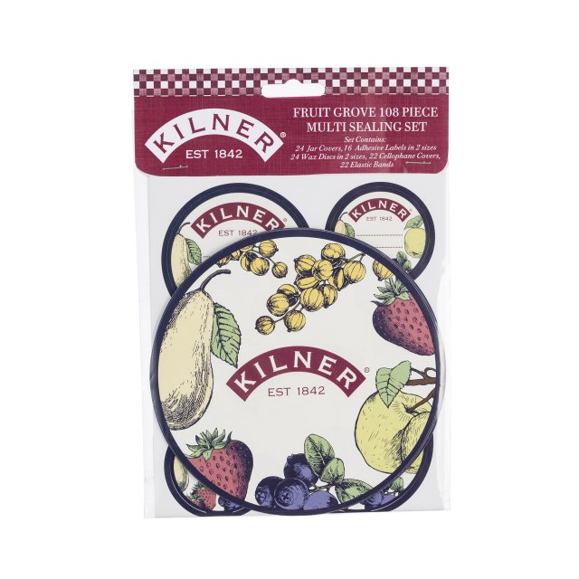 Kilner Kilner Fruit Grove 108 Piece Sealing Set