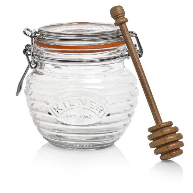 Kilner Kilner Honey Pot & Dipper in Gift Box
