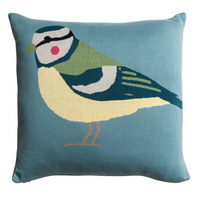 Sophie Allport Sophie Allport Garden Birds Knitted Statement Cushion