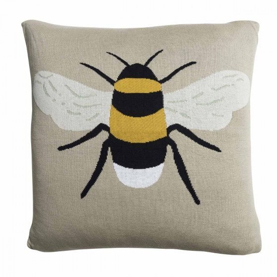 Sophie Allport Sophie Allport Bees Knitted Statement Cushion