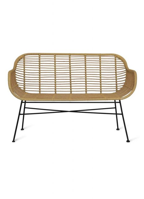 Garden Trading Hampstead All Weather Bamboo Bench