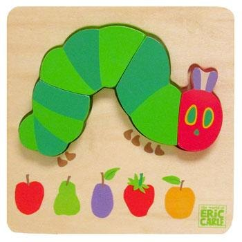 The Very Hungry Caterpillar Very Hungry Caterpillar Wooden Puzzle