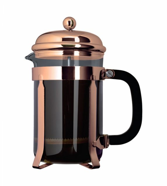 Grunwerg Cafe Ole Classic 8 Cup Cafetiere Copper