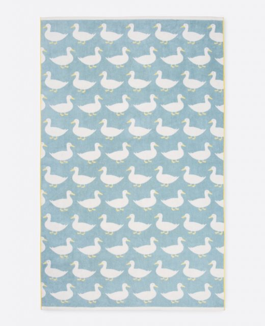 Anorak Anorak Waddling Ducks Bath Sheet
