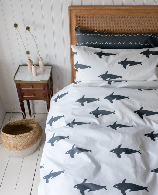 Anorak Anorak Orca Double Duvet Set (Reversible)