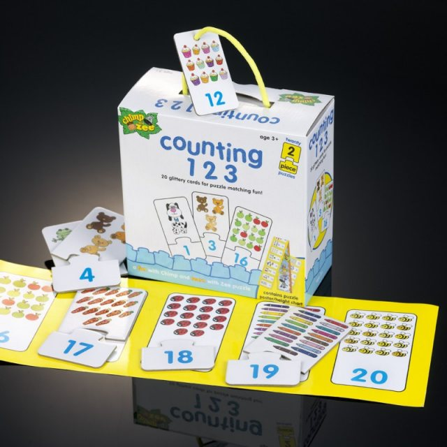 Counting 123 puzzle