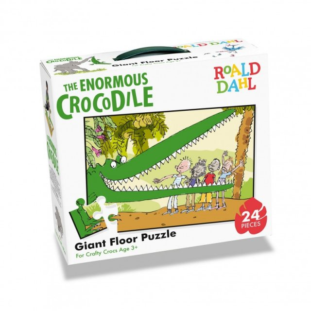 Roald Dahl Roald Dahl The Enormous Crocodile 24 Piece Giant Floor Puzzle