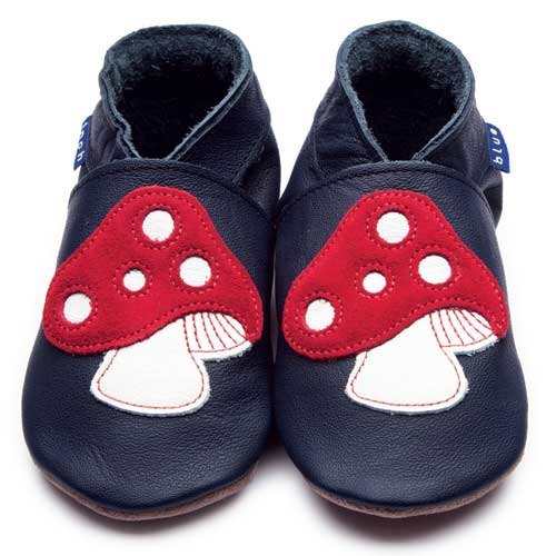 Inch Blue Toadstool Shoes 6-12 Months