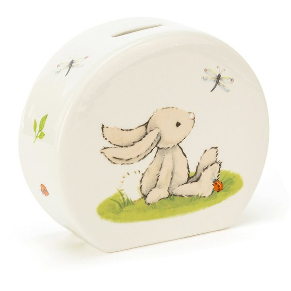 Jellycat Soft Toys Jellycat Bashful Bunny Ceramic Money Box