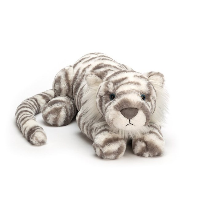 Jellycat Soft Toys Jellycat Sasha Snow Tiger - Medium