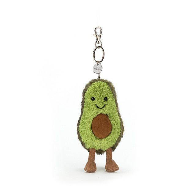 Jellycat Soft Toys Jellycat Amuseables Avocado Bag Charm