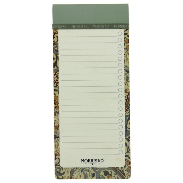 Morris & Co List Pad