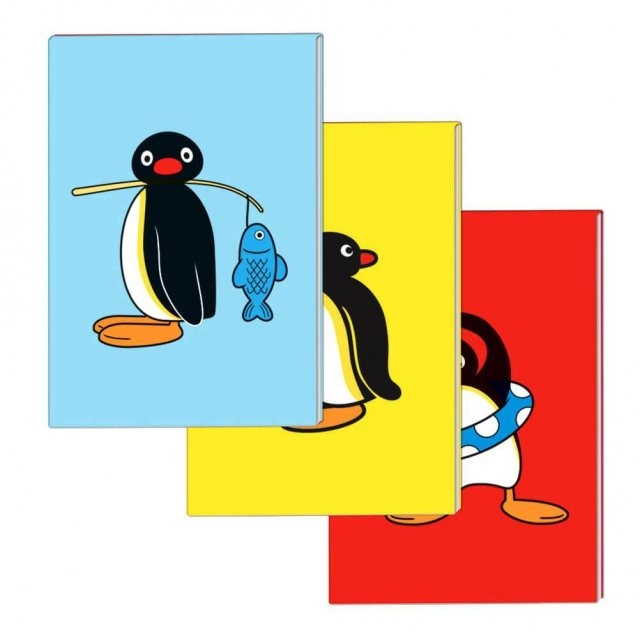Pingu Pingu Mini Notebook Set