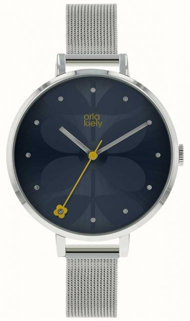 Orla Kiely Orla Kiely Ladies Ivy Mesh Watch