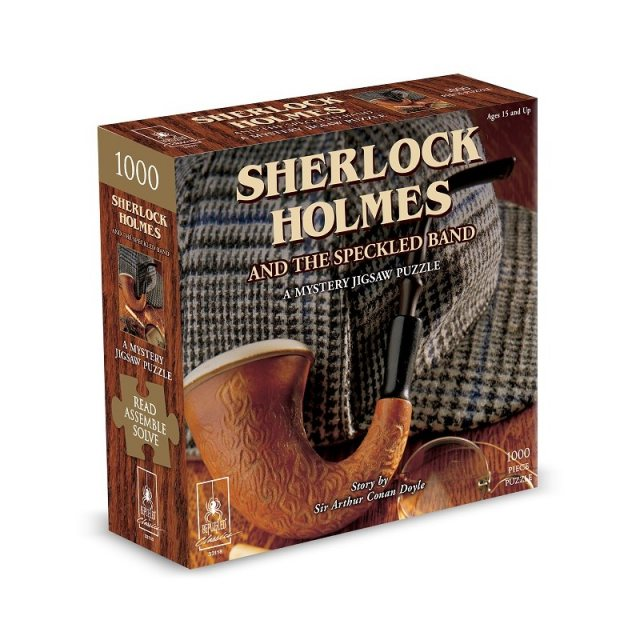 Sherlock Holmes and the Speckled Band a Mystery Jigsaw Puzzle