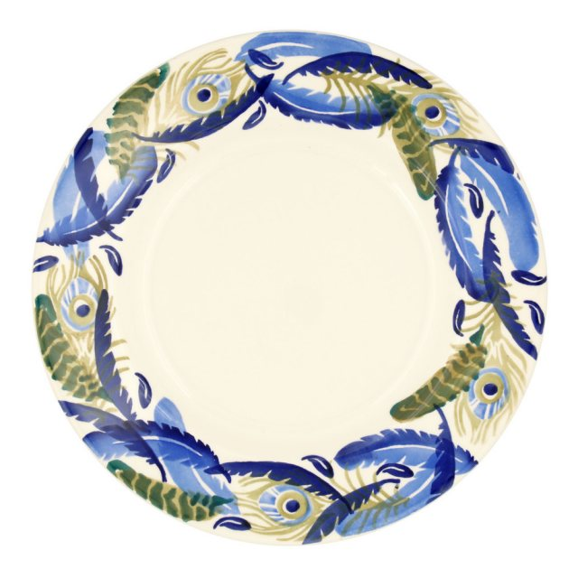 "Emma Bridgewater Emma Bridgewater Feather Wreath 10 1/2"" Plate"