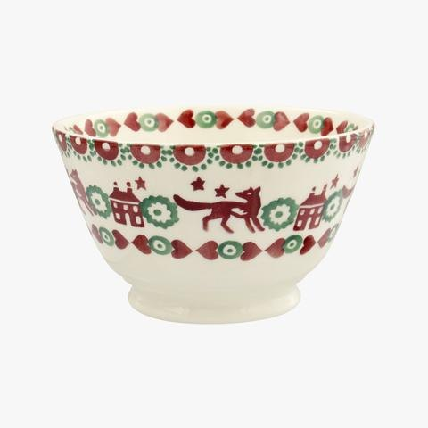 Emma Bridgewater Emma Bridgewater Christmas Joy Small Old Bowl
