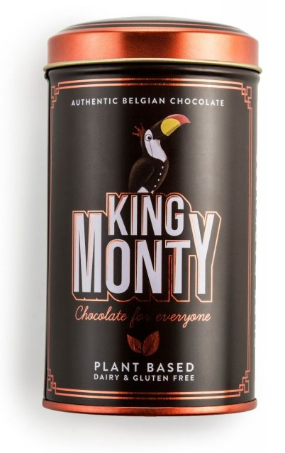 King Monty Pure Darkness Vegan Belgian Chocolate Sticks