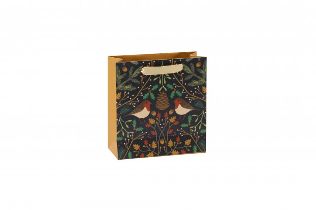 Seasons Greetings Robin Gift Bag