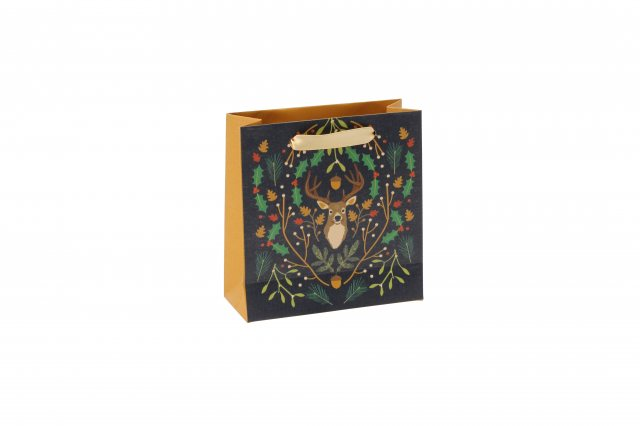 Seasons Greetings Stag Gift Bag