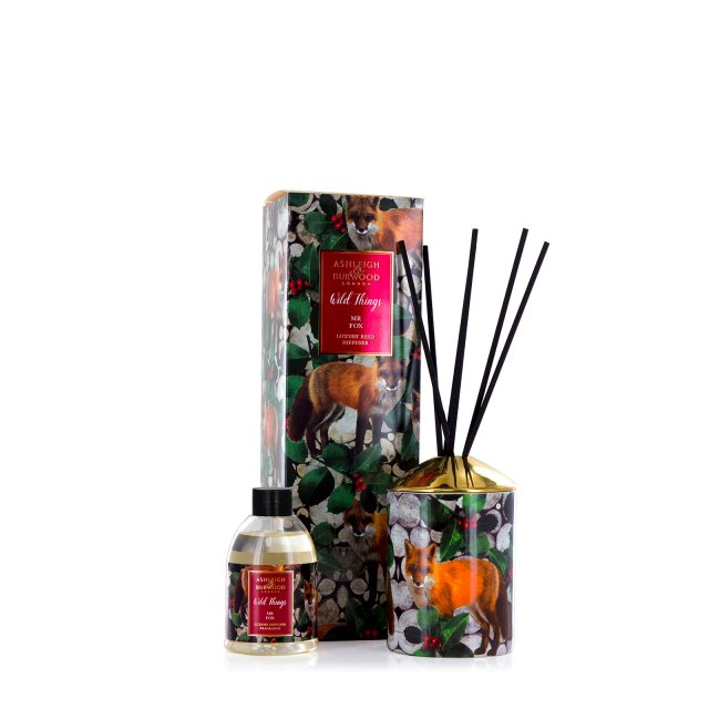 Ashleigh & Burwood London Wild Thing Xmas Diffuser Mr Fox - Christmas Spice