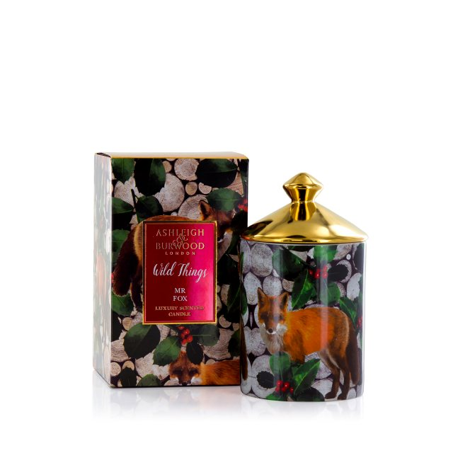 Ashleigh & Burwood London Wild Things Scented Candle: Mr Fox - Christmas Spice