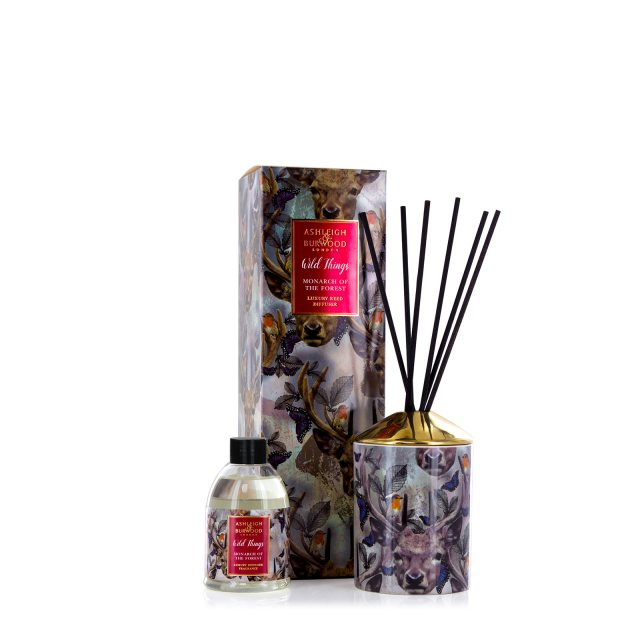 Ashleigh & Burwood London Wild Thing Xmas Diffuser Owl Night Long - White Christmas