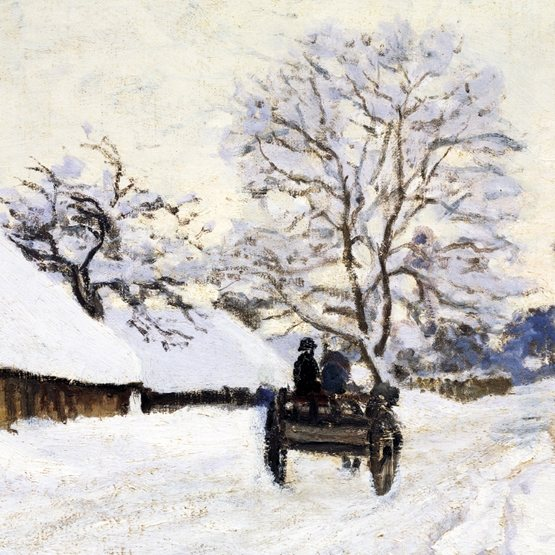 The Carriage - Road to Honfleur Charity Christmas Cards