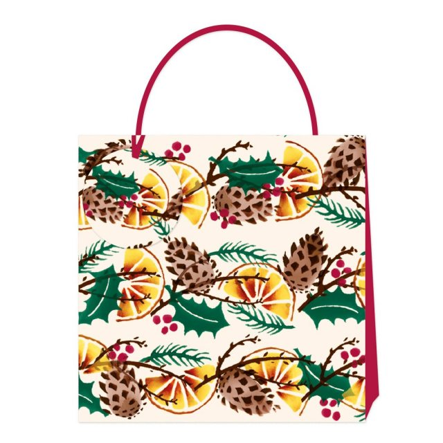 Emma Bridgewater Emma Bridgewater Holly Wreath Gift Bag