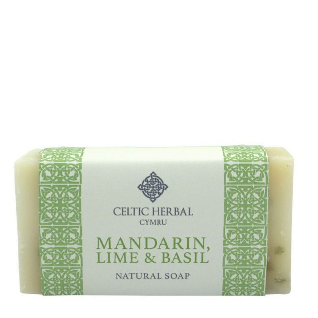 Celtic Herbal Cymru Purify Mandarin, Lime & Basil Soap 100g