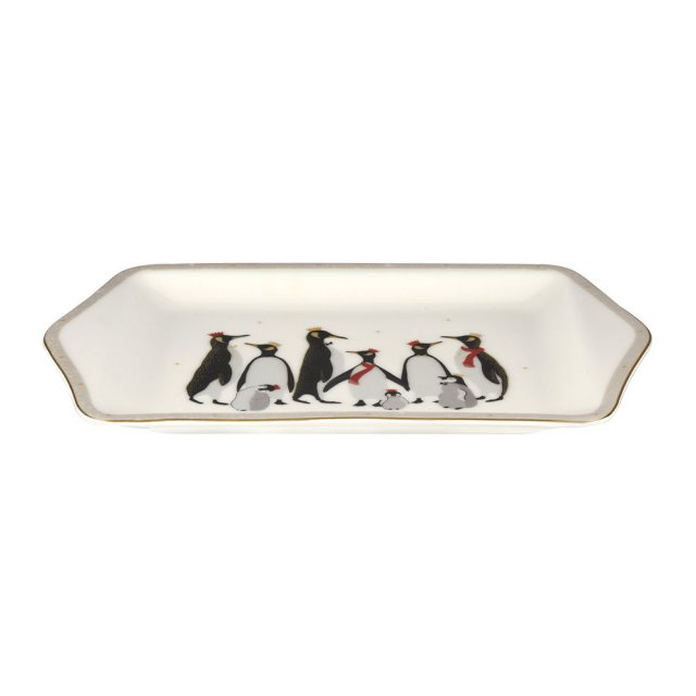 Sara Miller London Sara Miller London Penguin Christmas Collection Dessert Tray