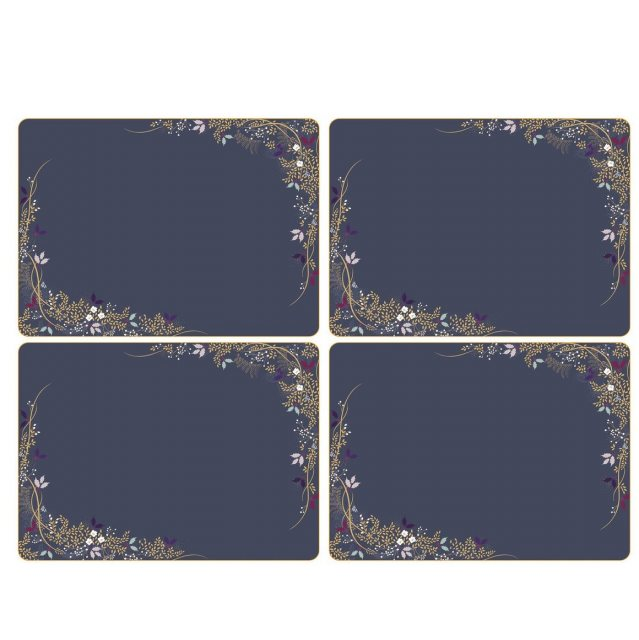 Sara Miller London Sara Miller London Garland Collection Placemats Set of 4 Large