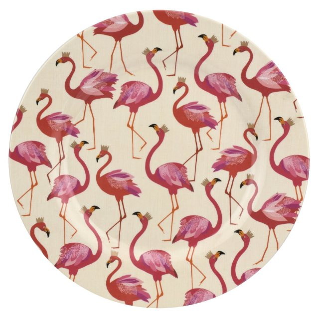 Sara Miller London Sara Miller London Flamingo Collection Melamine Dinner Plate