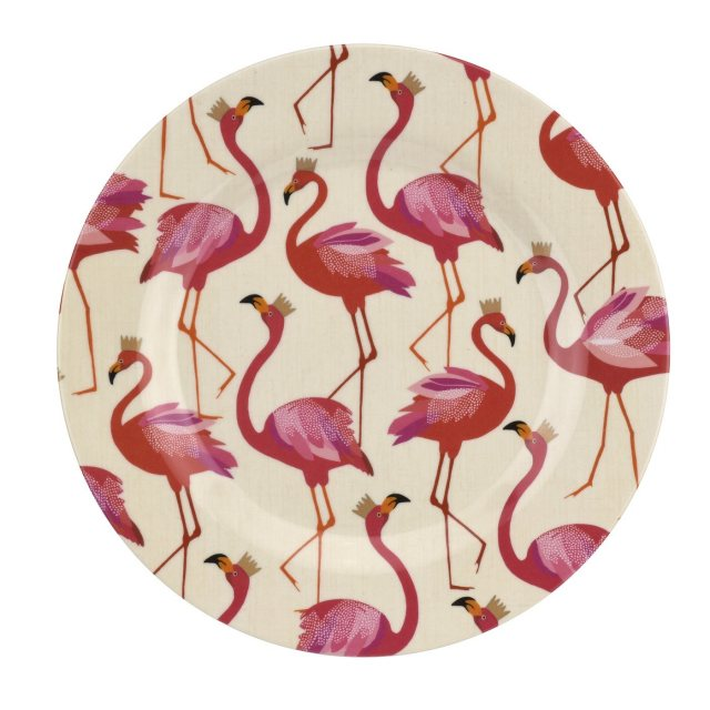 Sara Miller London Sara Miller London Flamingo Collection Melamine Side Plate