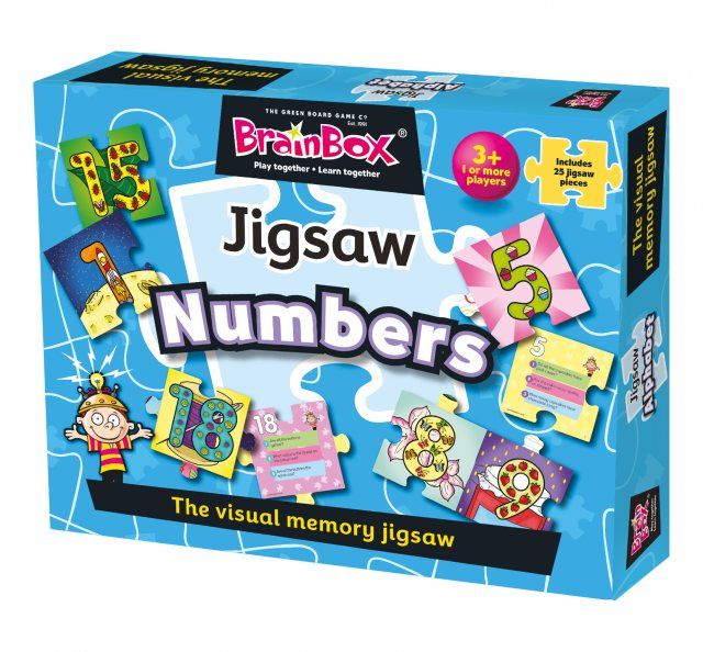 BrainBox Numbers Jigsaw Puzzle