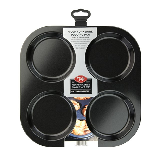 Tala Tala Performance Non-Stick 4 Cup Yorkshire Pudding Tray