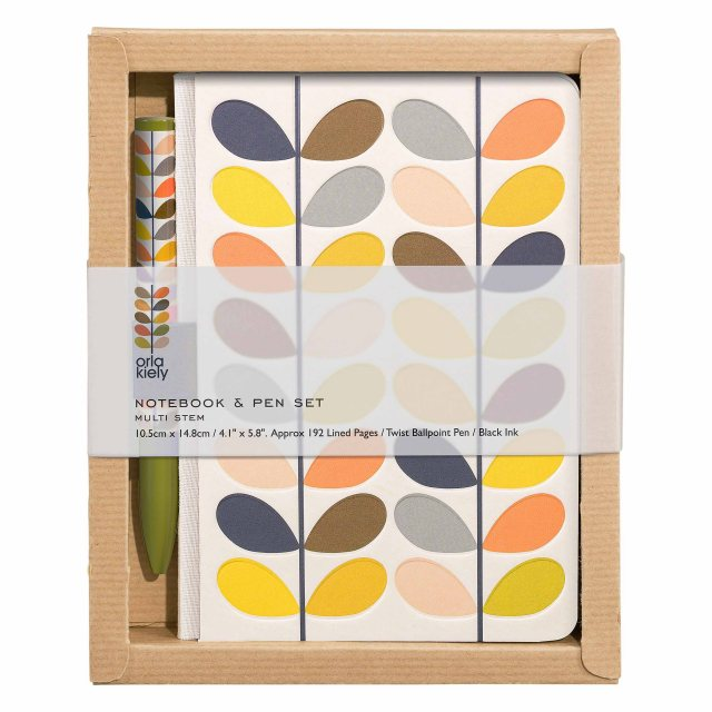 Orla Kiely Orla Kiely Multi Stem Pocket Notebook & Pet Set